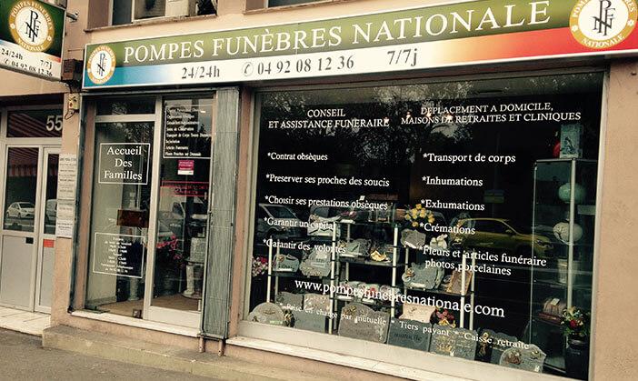 POMPES FUNÈBRES NATIONALE